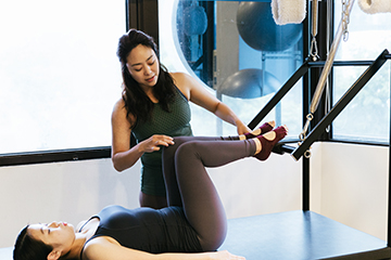 Pilates Injury recovery at Upside Motion