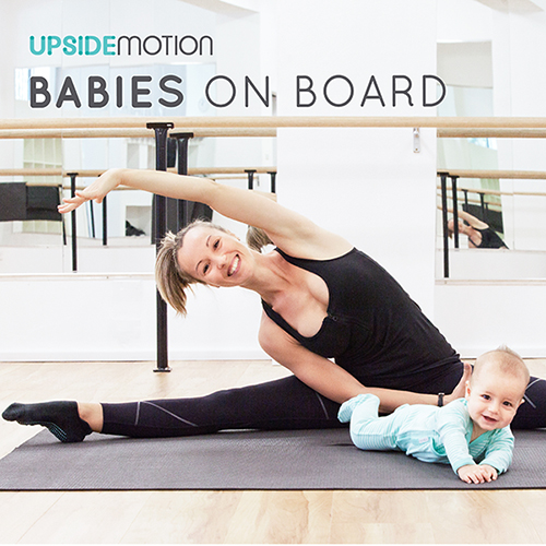 Upside Motion Babies On Board course