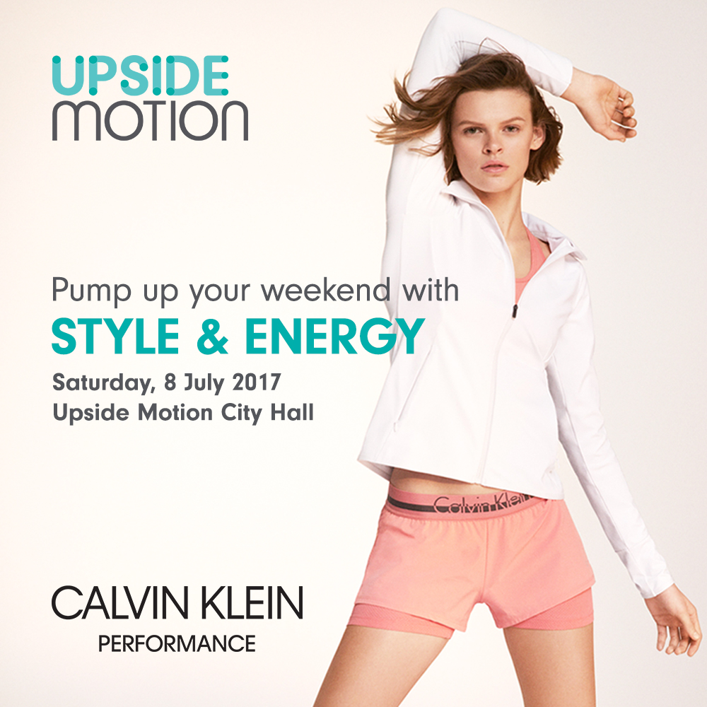 Upside Motion Calvin Klein Style & Energy Weekend