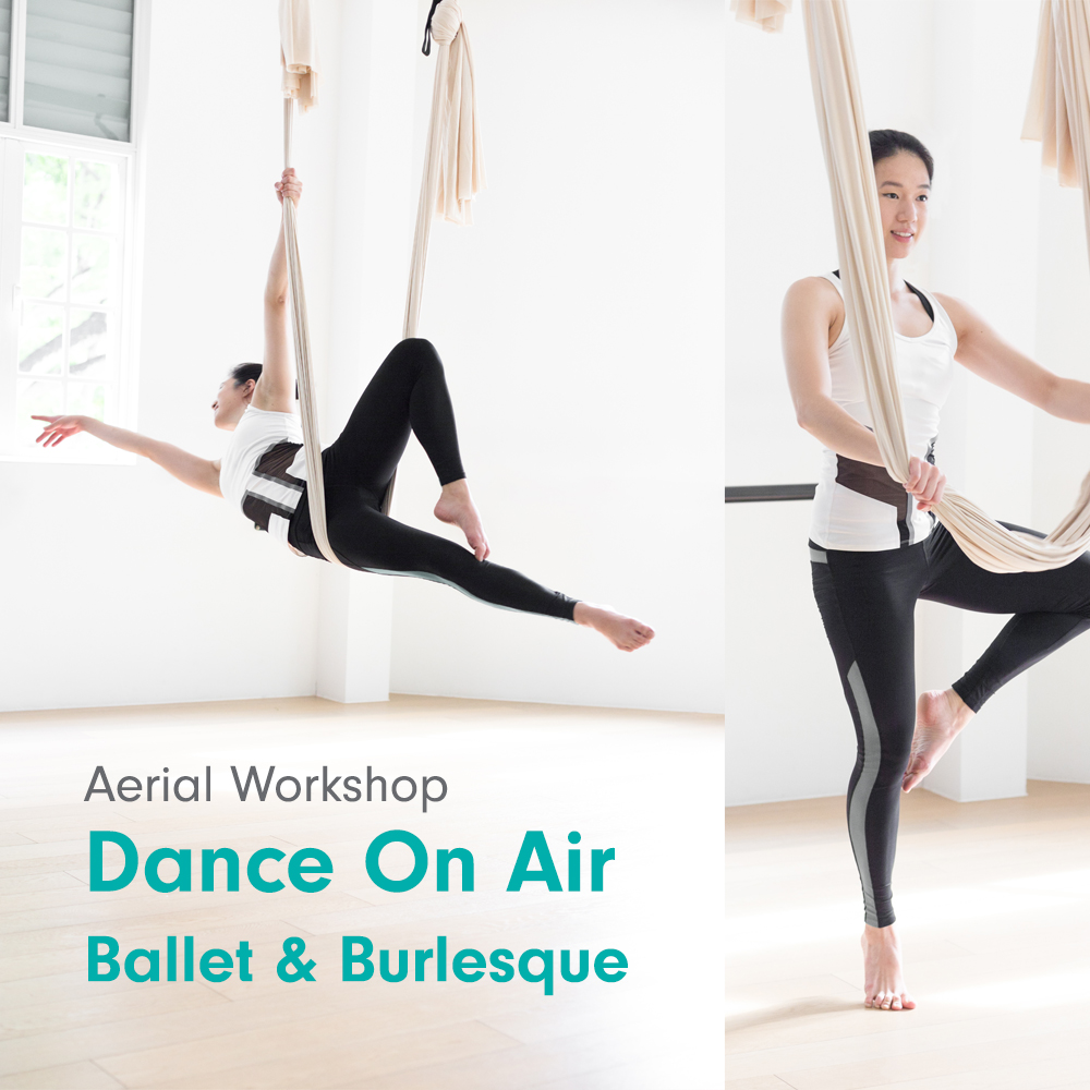 Upside Motion Aerial Dance On Air Workshop