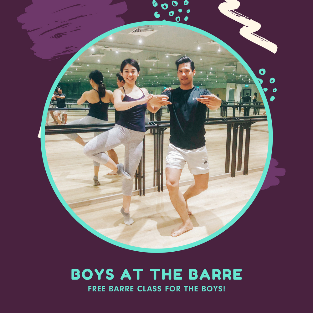 Upside Motion Boys At The Barre