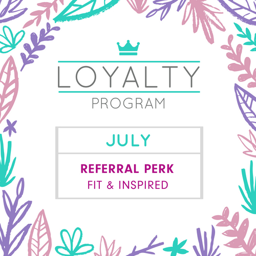 Perkville Perk Of The Month Referral Perk Fit & Inspired