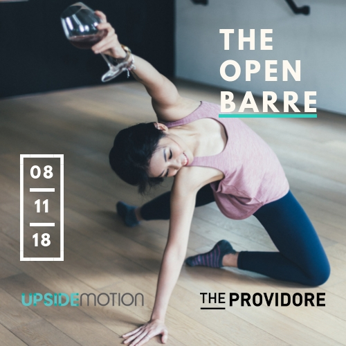 Upside Motion x The Providore The Open Barre