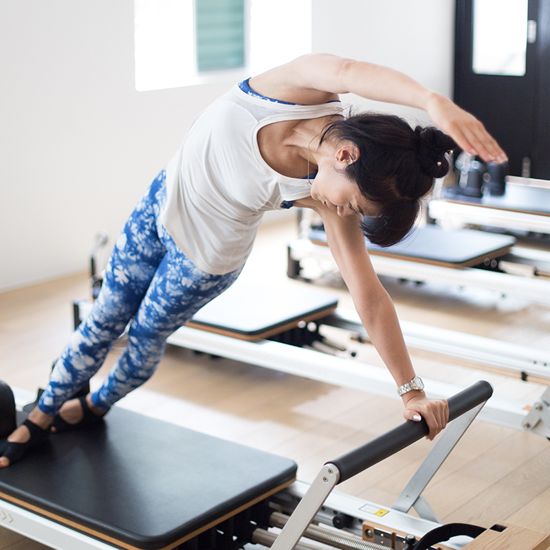 Japanese Reformer Pilates with Yuki