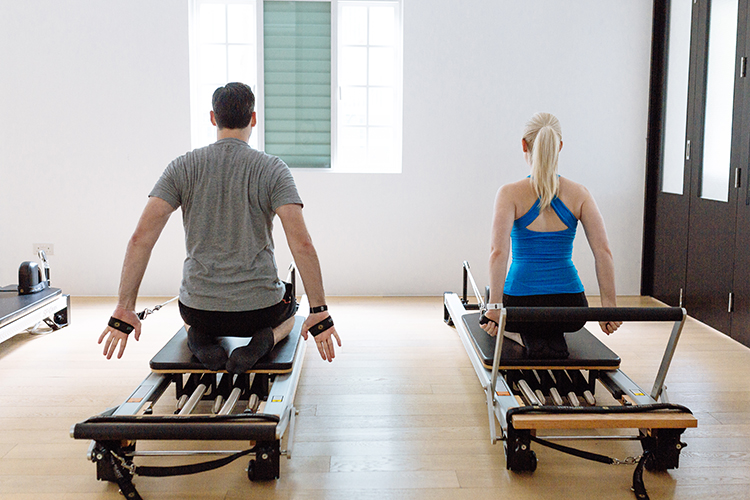 Upside Motion Upsider Spotlight Reformer Couple
