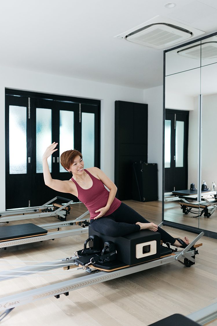 Upside Motion Upsider Spotlight Avryl Loves Pilates