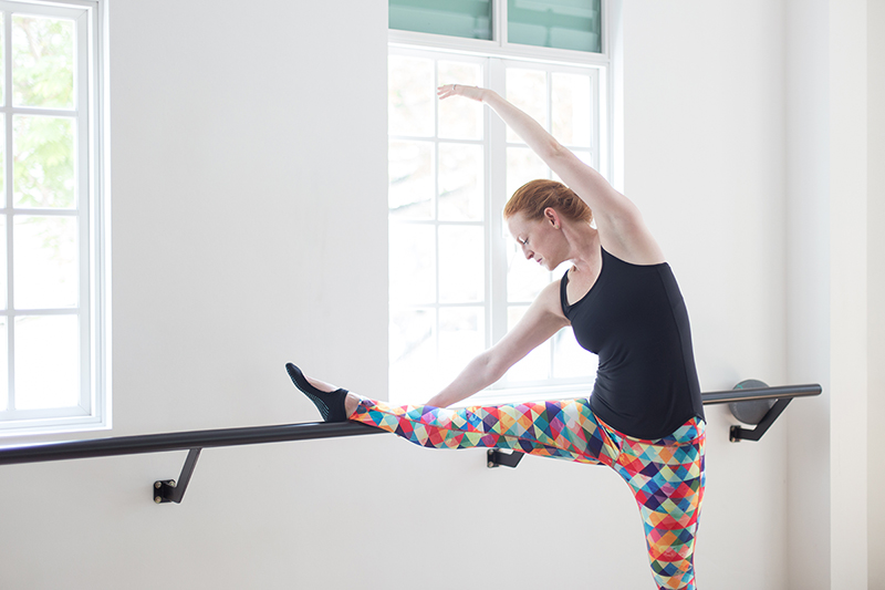 Upside Motion Upsider Spotlight Emma At The Barre