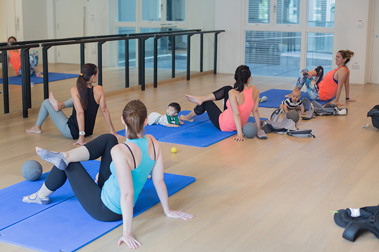 5 Things You Need To Know About The Babies On Board Workout Class