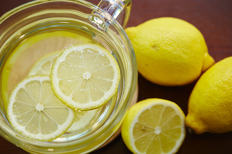 Start Your Day Right Exercise Lemon Water