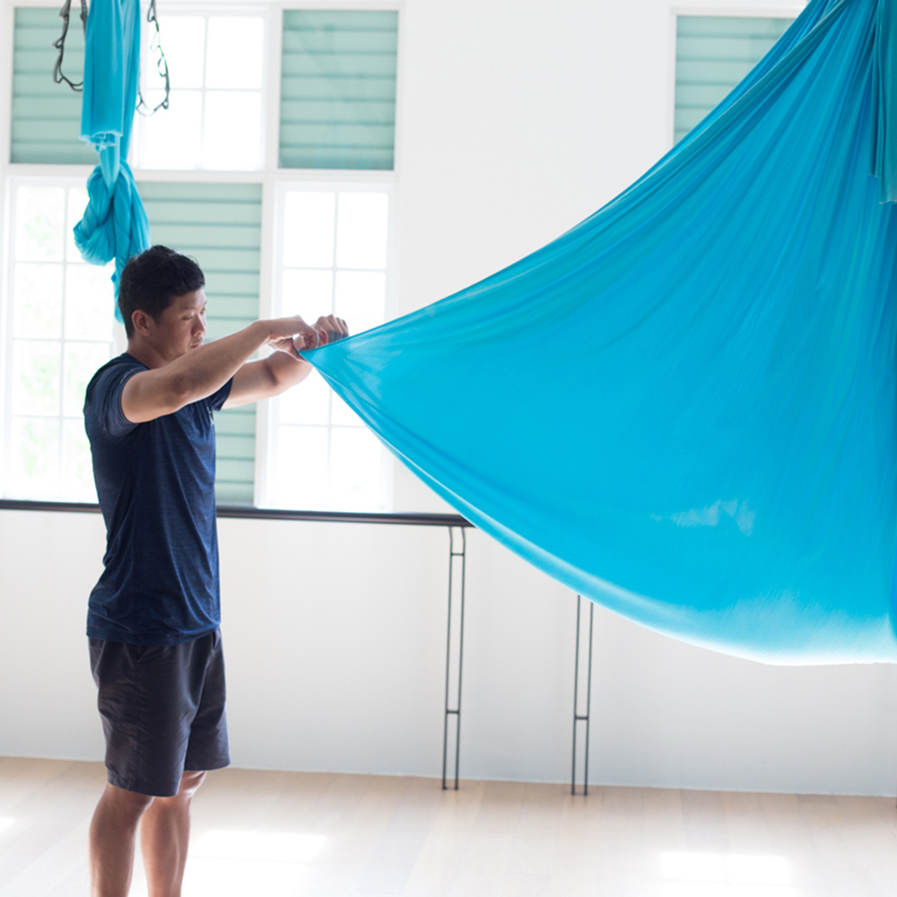 3 Aerial Stretches That Actually Heal You