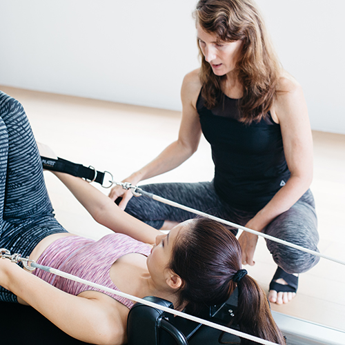 private pilates at upside motion